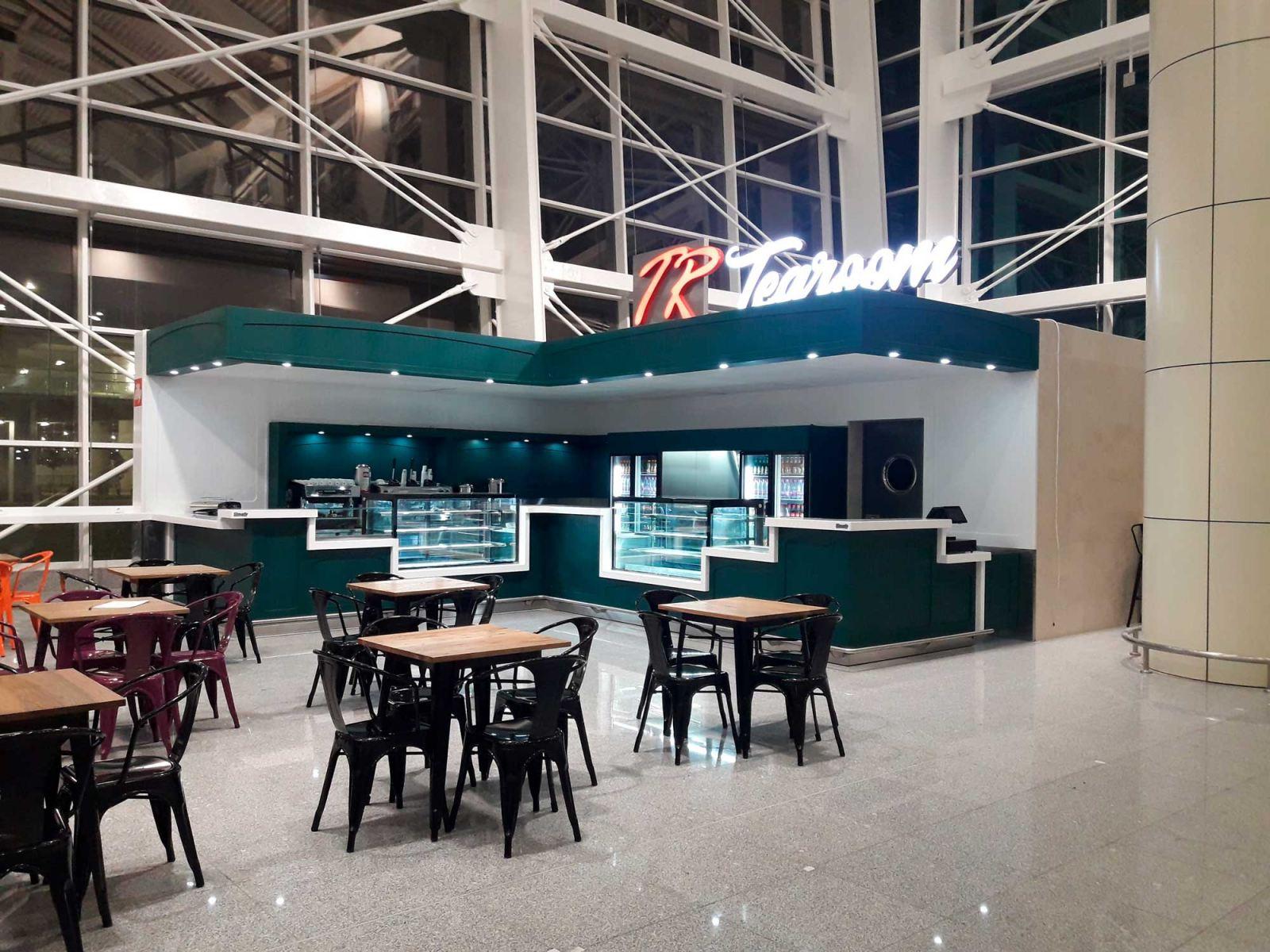 تنظيم كافتيريا TR TEA ROOM AEROPORT ALGER