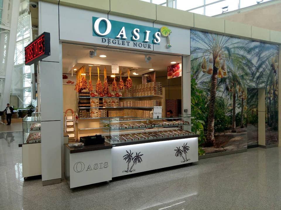 Agencement pâtisserie oasis