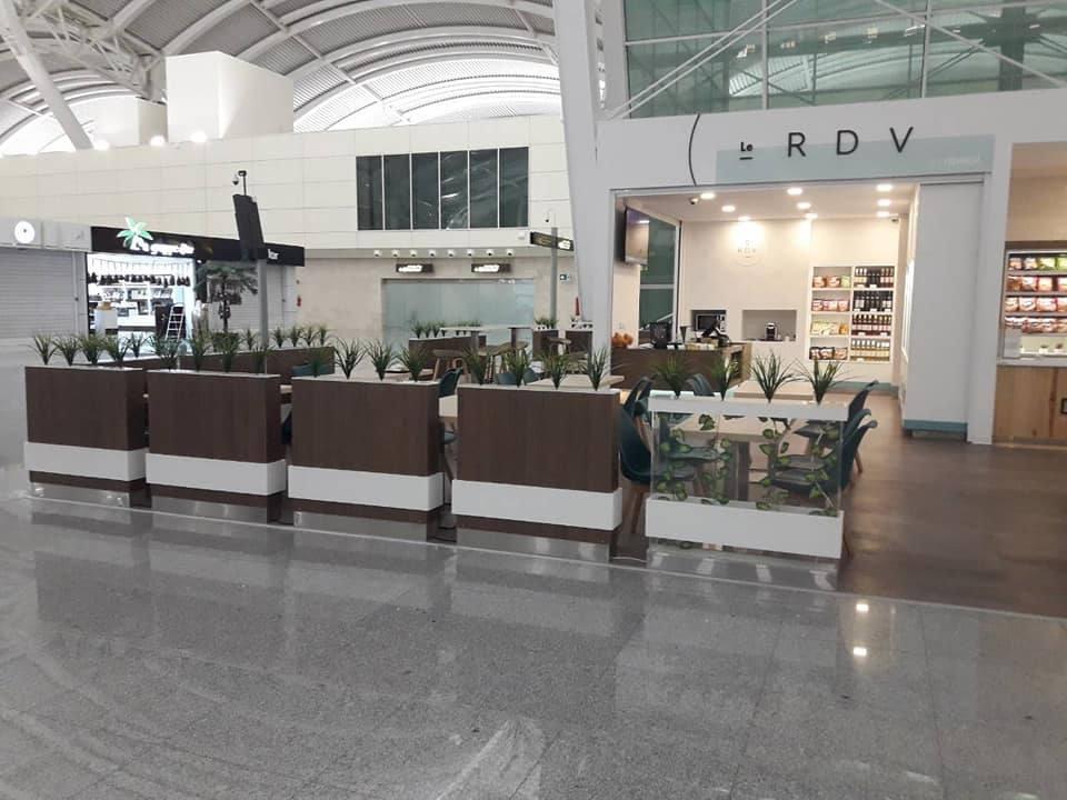 Agencement café daily aeroport ALGER